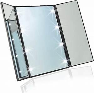 Make Up Spiegel : draagbare led make up spiegel met verlichting ~ Orissabook.com Haus und Dekorationen