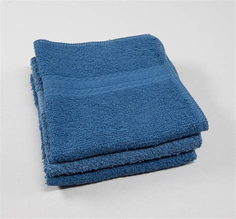12x12 Premium Color Washcloths - 1 lb/dz | Texon Athletic