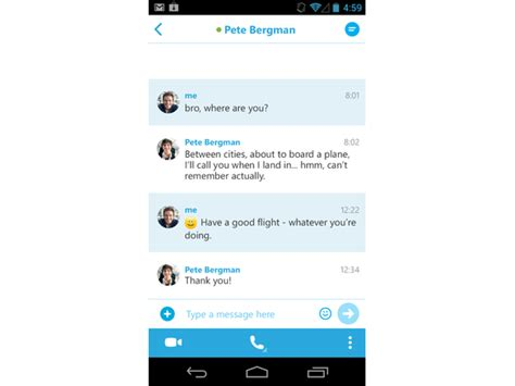 Users may exchange such digital documents as images, text. Download Skype for Android 8.68.0.97 for android Huawei ...