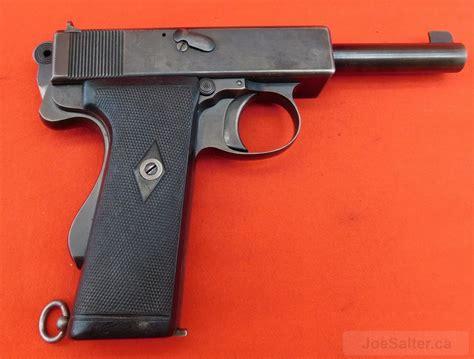 Webley 455 Mk 1 (n) Ww1 Navy Pistol