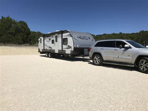 Towing Camper With Jeep Big Fat Happy Life