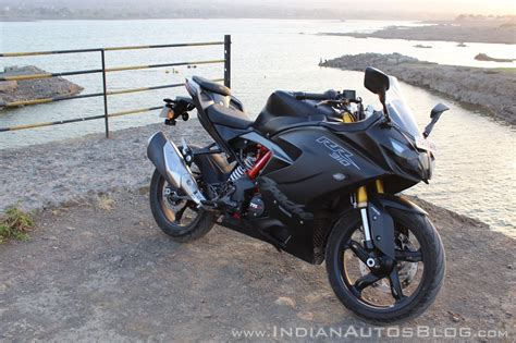 tvs apache rr 310 racing black detailed review