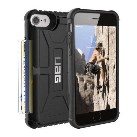 uag trooper iphone   protective wallet case black