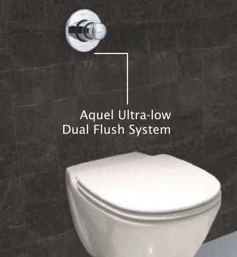 flush valve aquel ultra  dual flush system