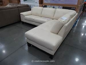 Htl manhattan leather sectional for Htl sectional leather sofa