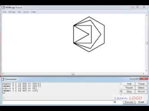 msw logo draw  polygon  repeat command  logo