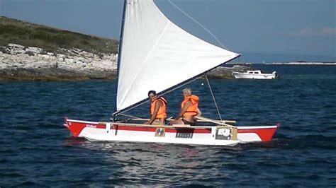 "Proa ""Kiribati"" extreme high speed outrigger sailing boat ..."