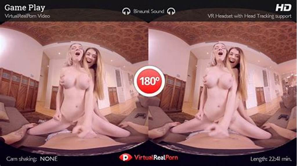 #Virtualrealporn'S #Game #Play #Feel #Misha #Cross #& #Carly #Rae
