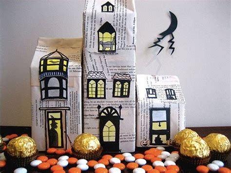milk box haunted house pictures   images