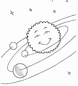 solar system sketch happy sun - /space/solar_system ...