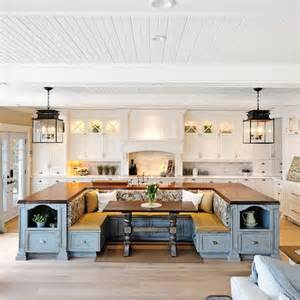 photos of kitchen islands with seating picture of kitchen island and seating area in one