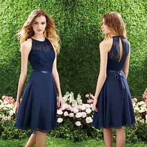 robe courte dentelle bleu marine mariage pinterest With robe courte bleu marine