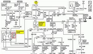 Circuit Electric For Guide  2007 Escalade Headlight Wiring