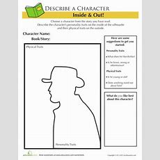 Frontiersman Character Traits  Worksheet Educationcom