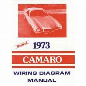 Camaro Wiring Diagram Manual  1973