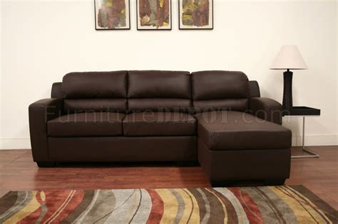 Convertibles Leather Sleeper Sofa by Faux Leather Convertible Sofa Bed Sectional Soren Brown