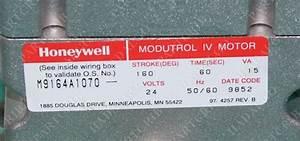 Honeywell  M9164a1070  Modutrol Iv Motor Actuator 24v New