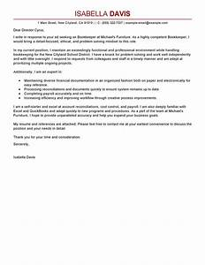 best bookkeeper cover letter examples livecareer With spacex cover letter