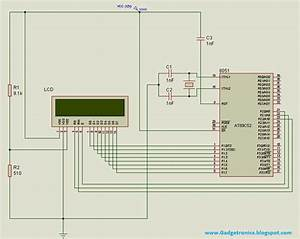 Programming Lcd In 4 Bit And 8 Bit Mode Using 8051