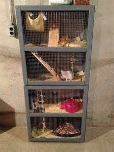 Homemade Rat Cage