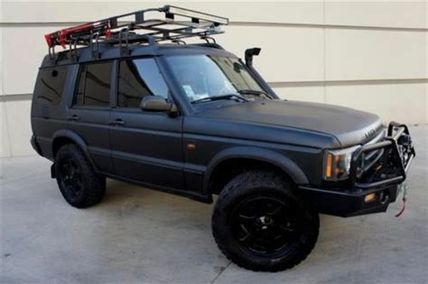 find  custom safari land rover discovery snorkel winch