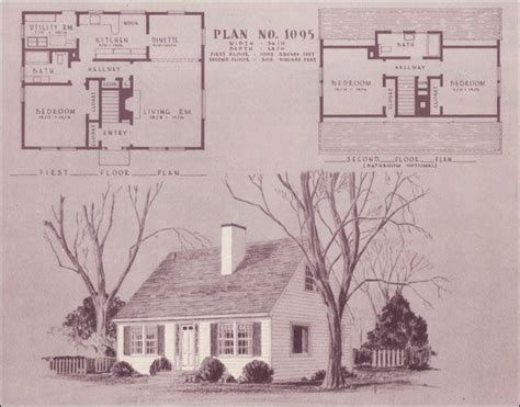 cape  bathrooms portland flourishes   forties  home history building plans