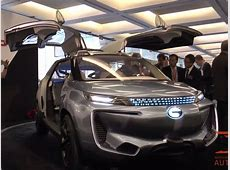 Tesla Model X Of China GAC WitStar At Detroit Auto Show