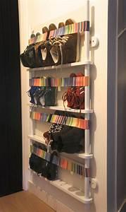 Petit Rangement Chaussures : rangement chaussures original en 33 id es super cr atives ~ Teatrodelosmanantiales.com Idées de Décoration