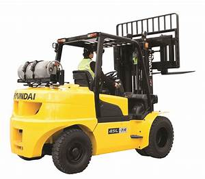 Hyundai Forklift Truck 35l  40l  45l