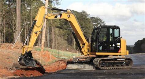 caterpillar  series mini excavators construction equipment