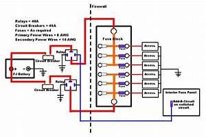 Lighting Relay Panel Wiring Diagram
