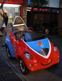 Dominoes Pizza Delivery Car