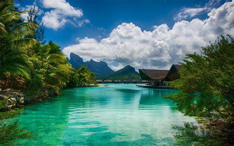 Bora Bora Island In French Polynesia Intercontinental