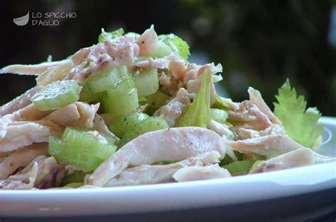 insalata di pollo sedano maionese ricetta insalata di pollo e sedano le ricette dello