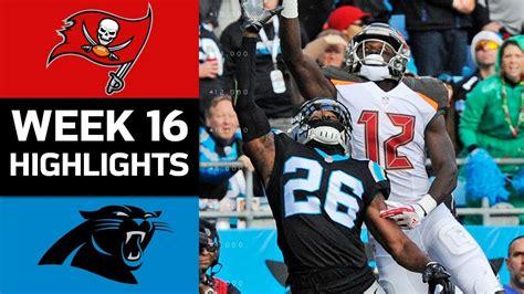 buccaneers  panthers nfl week  game highlights