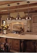 Vintage Kitchen Island Unique Design Industrial Antique Copper Kitchen Pendant Lighting Traditional Kitchen