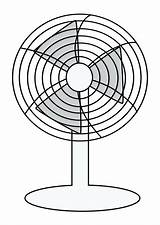 Fan Coloring Pages Ceiling Electric Electrical Symbol Getdrawings Plan Getcolorings Printable sketch template