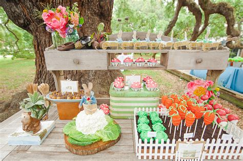birthday party ideas for popsugar dessert table a birthday garden party starring