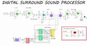 Simple Surround Sound Processor Circuit