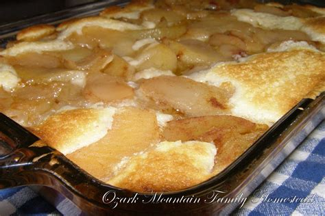 easy apple cobbler ozark mountain family homestead easy apple cobbler