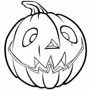 Citrouille D Halloween Dessin : dessin citrouille d 39 halloween heureuse a colorier dessin colorier et dessin non colorier ~ Nature-et-papiers.com Idées de Décoration
