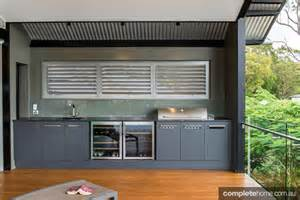island bench kitchen designs a stunning alfresco kitchen from enigma interiors