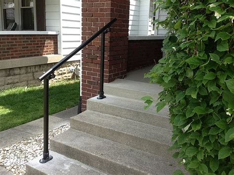 Porch Stair Handrail by Surface 518 Outdoor Stair Railing Easy Install Handrail