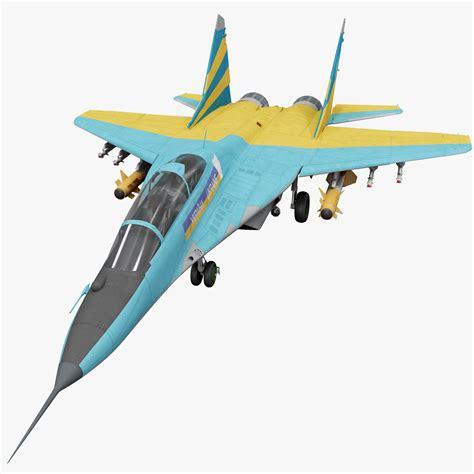 Russian Fighter Aircraft Mig 29 3d Model