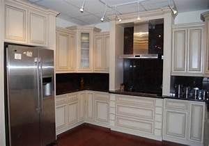[Repaint Maple Kitchen Cabinets Interior Antique White