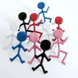 Group Stick People Clip Art