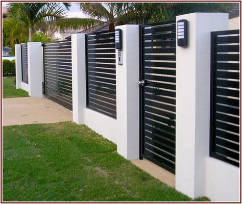 modern brick fence designs modern fence design modern fence and fence design on pinterest
