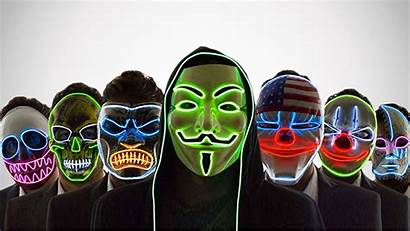 Neon Masks Scary Nightlife Dudeiwantthat Buyer Guides