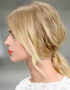 Coiffure Pour Cheveux Mi Longs : coiffure cheveux fins mi longs 30 coiffures pour les cheveux fins elle ~ Melissatoandfro.com Idées de Décoration