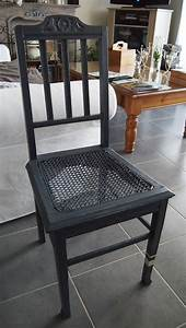 Relooker Des Chaises : chaise ancienne relook e photo de avant apres atelier delysa ~ Melissatoandfro.com Idées de Décoration